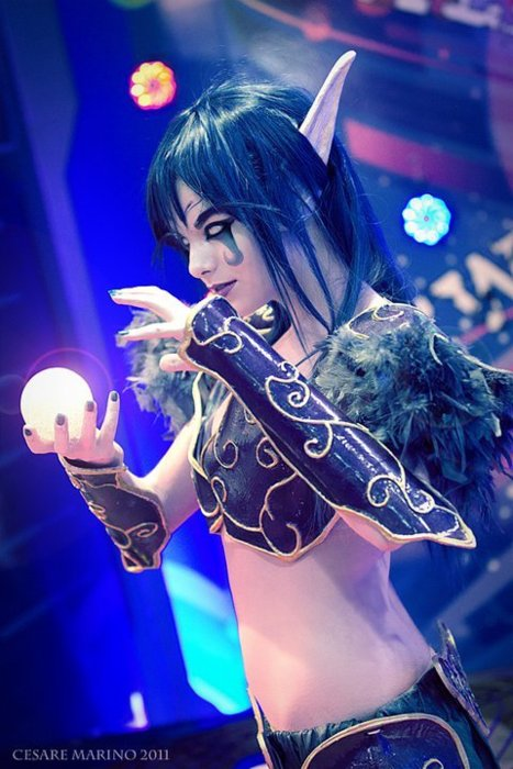 cosplay elf Wow night