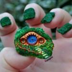 Hobbit Hole Nail Art