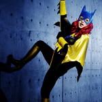 Batgirl Body Paint Cosplay