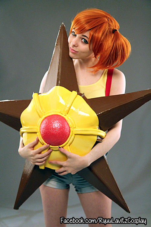 Pokemon Staryu and Misty Cosplay