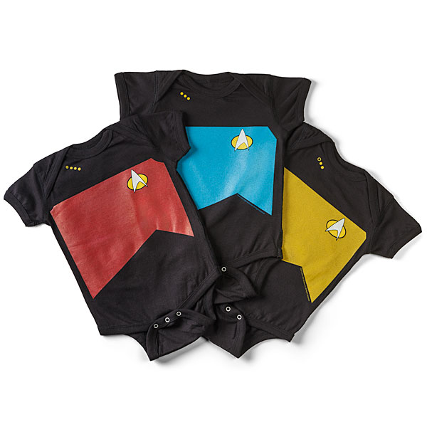 Star Trek: The Next Generation Uniform Onesie