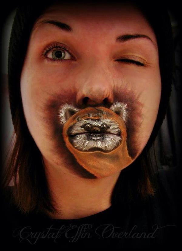 Star Wars Ewok Lips