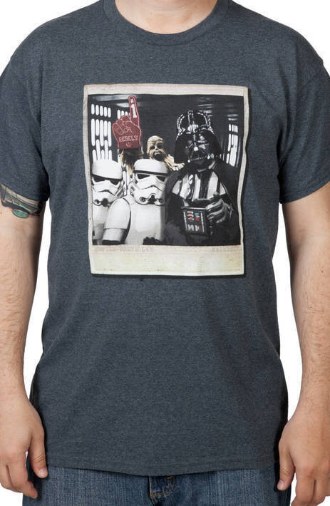 Star Wars Wookie Photo Bomb T-Shirt