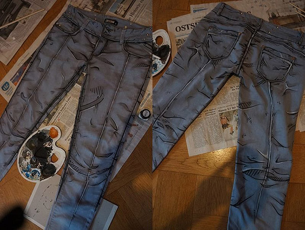 Borderlands Cel Shaded Jeans