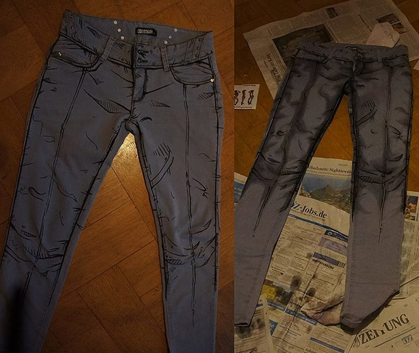 Borderlands Cel Shaded Pants