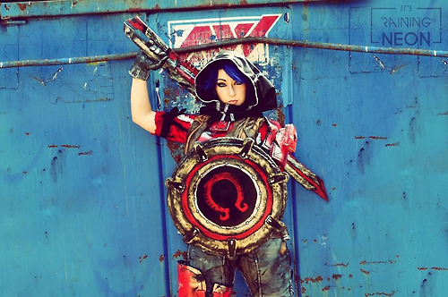 Borderlands: The Pre-Sequel Athena Cosplay