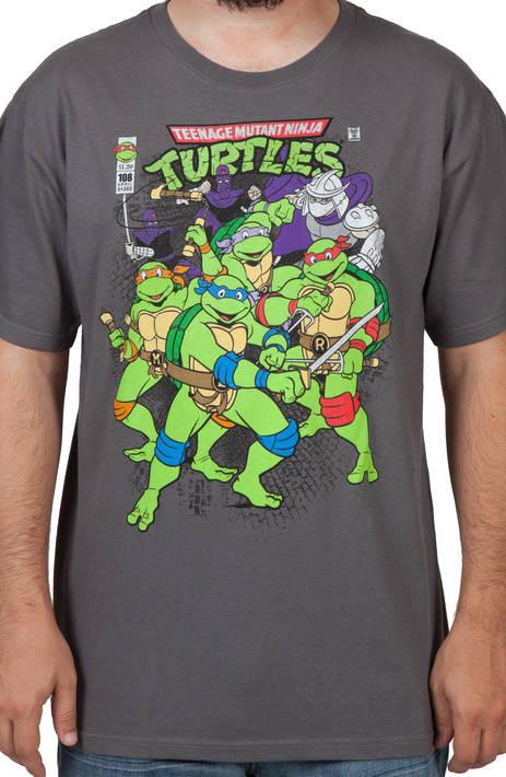TMNT Comic T-Shirt