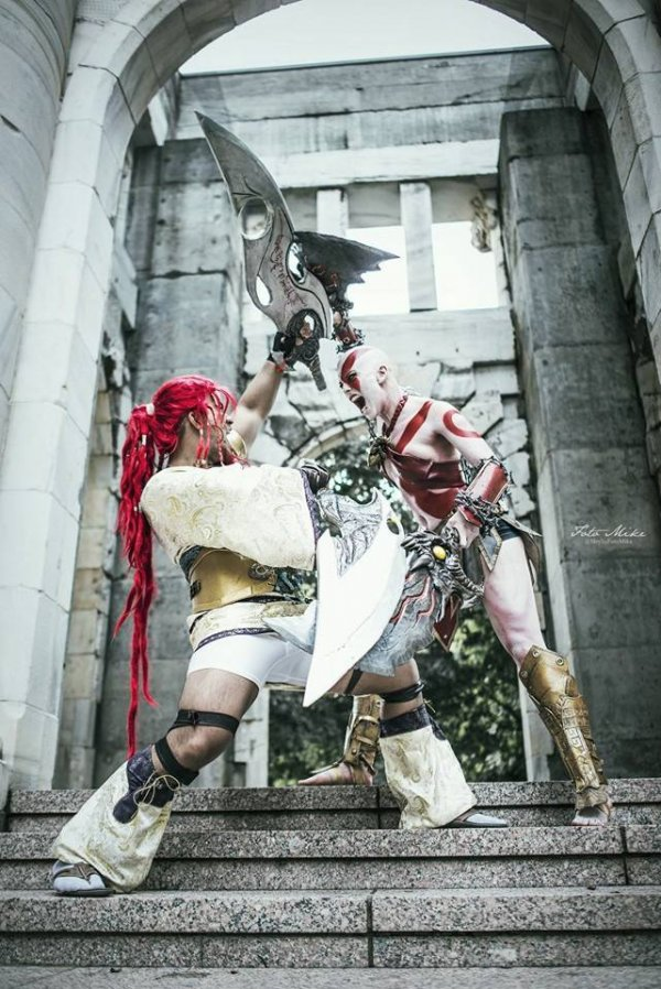 God of War Kratos Cosplay