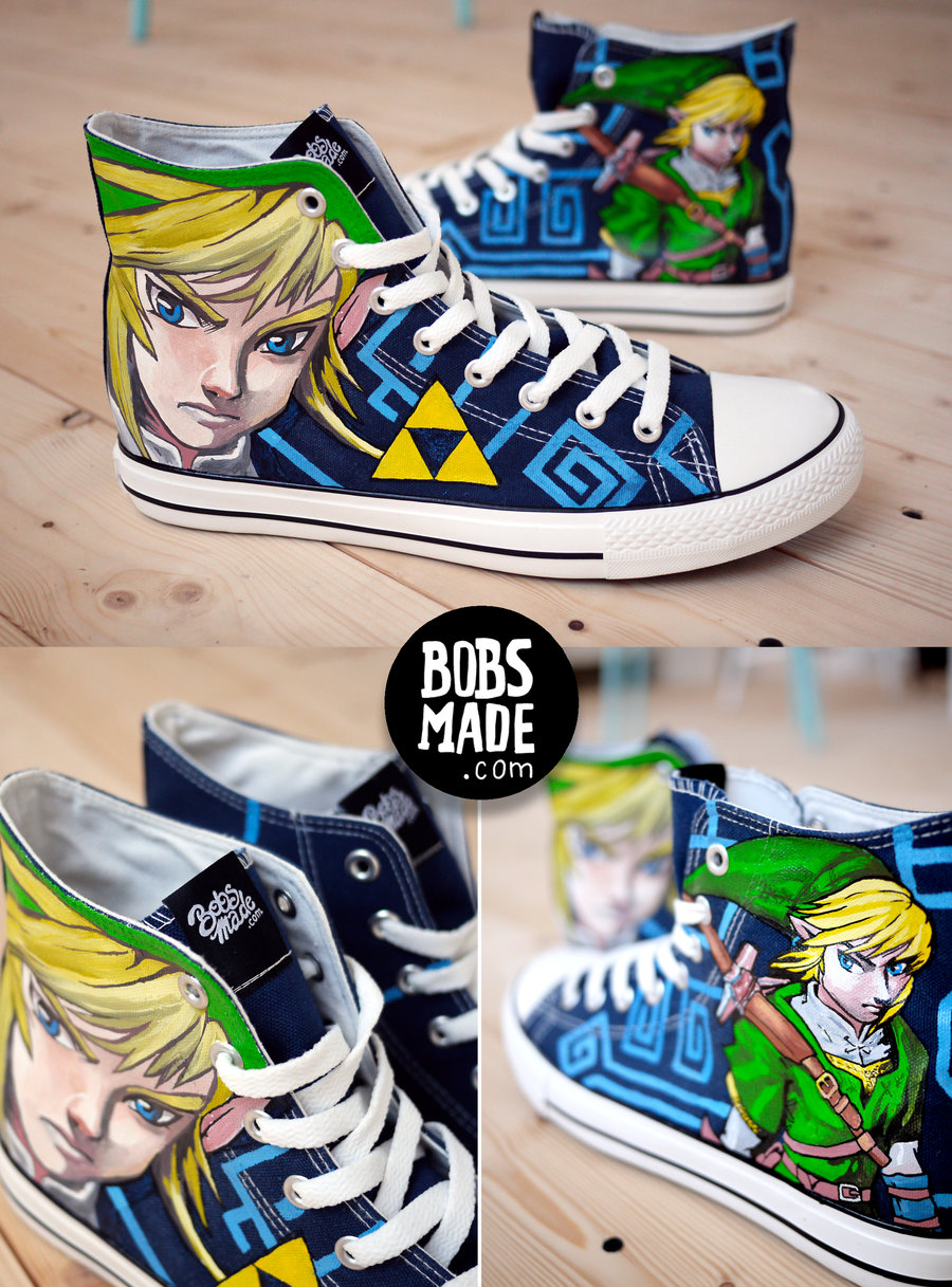 Legend of Zelda Shoes by Bobs Made