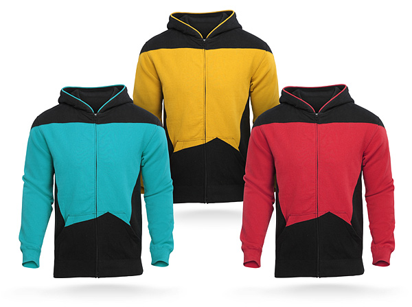 Star Trek: TNG Uniform Hoodies