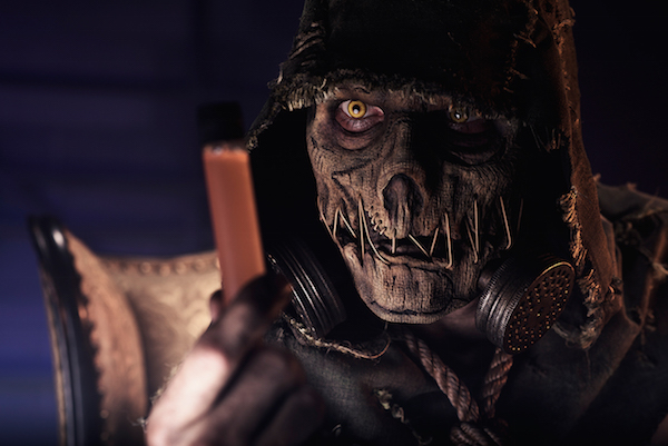 Batman Arkham Knight Scarecrow Cosplay