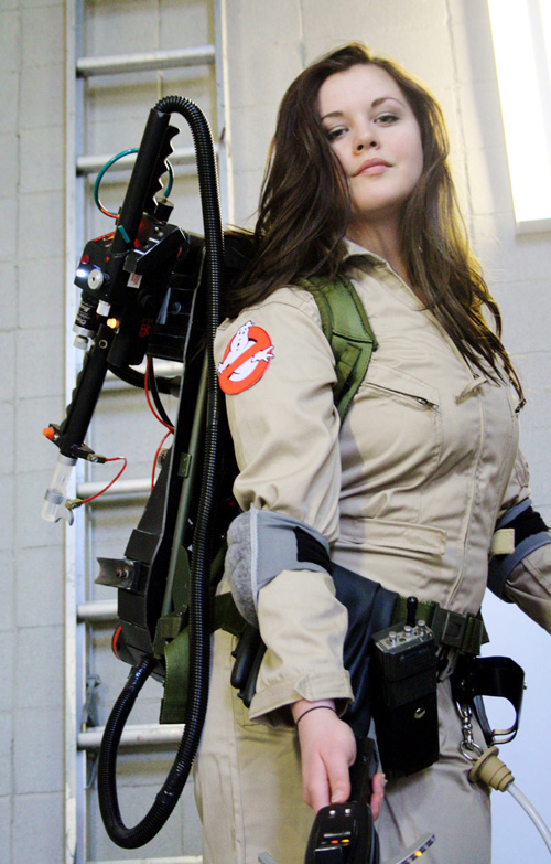Lady Ghostbuster Cosplay