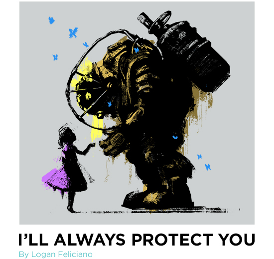 Bioshock I'll Always Protect You T-Shirt