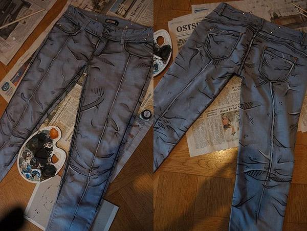 Borderlands Cel Shaded Jeans