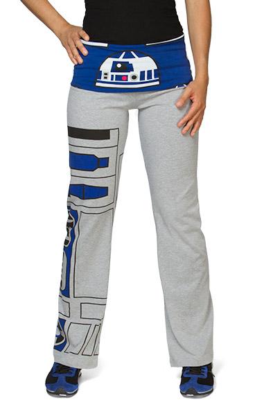 Ladies R2-D2 Yoga Pants