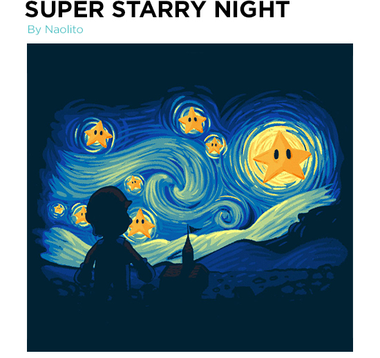 Super Starry Night T-Shirt