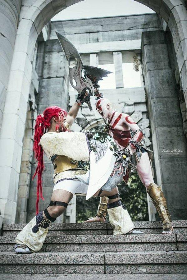 God of War Kratos Cosplay