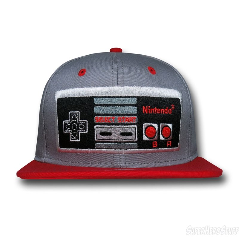 Nintendo Entertainment System Controller Hat