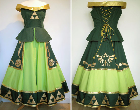 Legend of Zelda Cosplay Dress